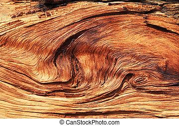 torcido, grano de madera