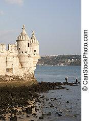 toren, belem, portugal, lissabon