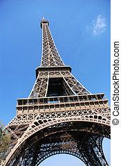 toren, eiffel, parijs