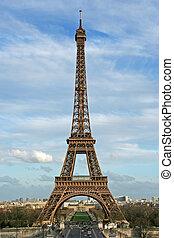 toren, eiffel