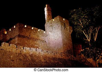 toren, jeruzalem, david
