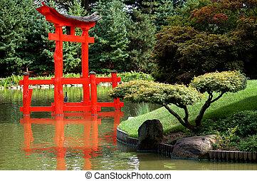 torii., 日本の庭