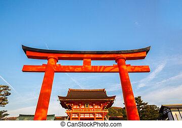 Fushimi Inari Shrine - Torii at Fushimi Inari Shrine Kyoto ...
