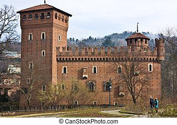 torino, medievale, castello