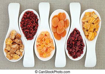 torkat - frukt