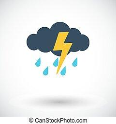 tormenta, icono
