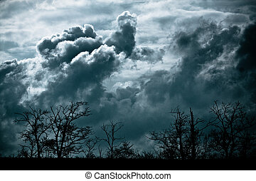 tormenta, venida