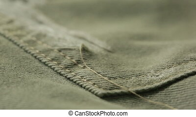 Torn denim dirty jeans texture. can use as background. -...