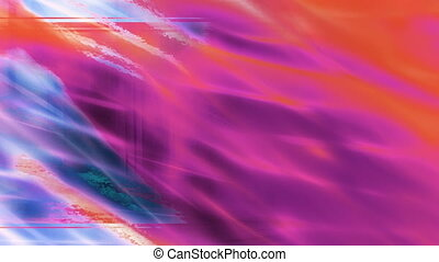 Torn edge flowing abstract template style looping background...