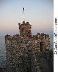 torn, fästning