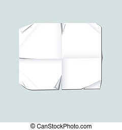 Torn paper. Isolated. EPS 8, AI, JPEG