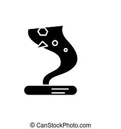 Tornado black icon, vector sign on isolated background. Tornado concept symbol, illustration