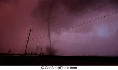 tornado, gewitter, illinois