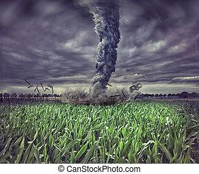tornado, groot
