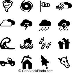 tornado, icone