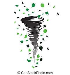 tornado, illustrazione