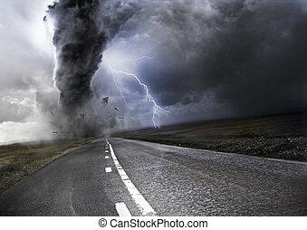 tornado, mächtig