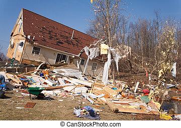 tornado, nasleep, in, lapeer, mi.