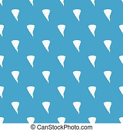Tornado pattern seamless blue