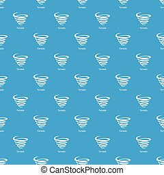Tornado pattern vector seamless blue