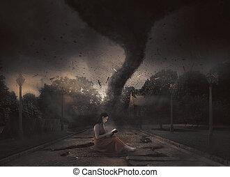 tornado, studeren, bijbel