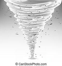 Tornado Swirl. Wheather Disaster. Hurrigane - Tornado Swirl...