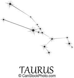 toro, zodiaco, segno.
