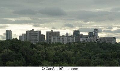 Toronto apartments. Timelapse.