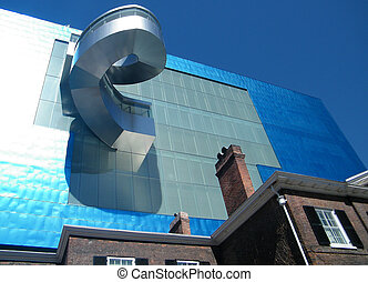 Toronto Art Gallery of Ontario - Blue Fantasy of Art Gallery...