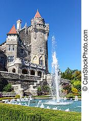 toronto, castello, landmark:, canadese