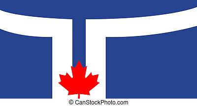 Toronto city flag