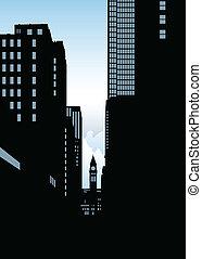 Toronto Financial Skyline