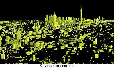 Toronto Night Flight
