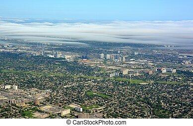 Toronto North aerial