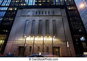 Toronto Stock Exchange - Toronto, ON, Canada - June 12: ...