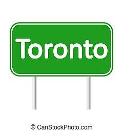 Toronto road sign.