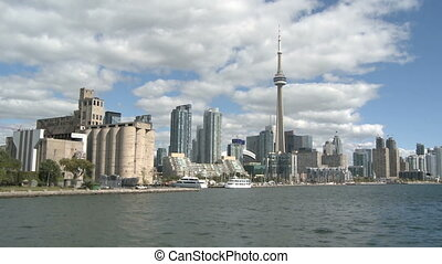 Toronto Skyline in Motion