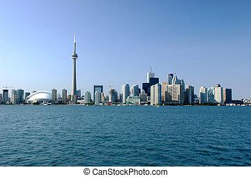 Toronto Skyline - Shot to Toronto skyline