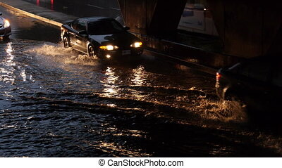 Toronto Storm Flooding 3 - Storm footage shot in Toronto...