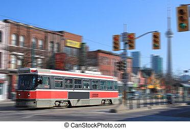 Toronto streetcar transportation - Streetcar transportation...