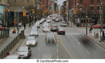 Toronto timelapse. - Timelapse shot of downtown Toronto....