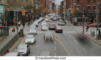 Toronto timelapse.