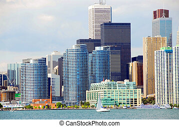 Toronto waterfront - Beautiful Toronto waterfront