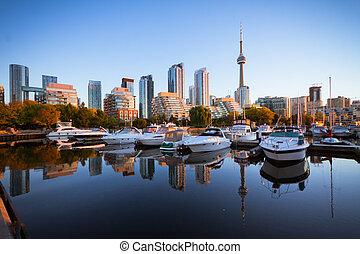 Toronto Yacht Club - View of Toronto Yacht Club near the...