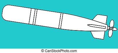 Illustration of the torpedo icon