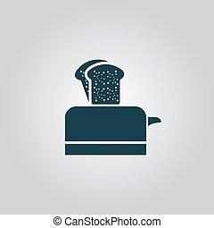 torradeira, ícone