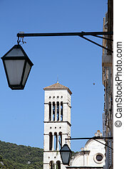 torre, campana