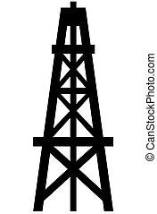 torre de perforación del aceite