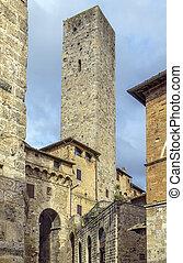 Torre dei Becci, San Gimignano, Italy