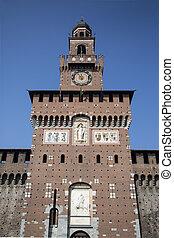Torre del Filarete in Milano
